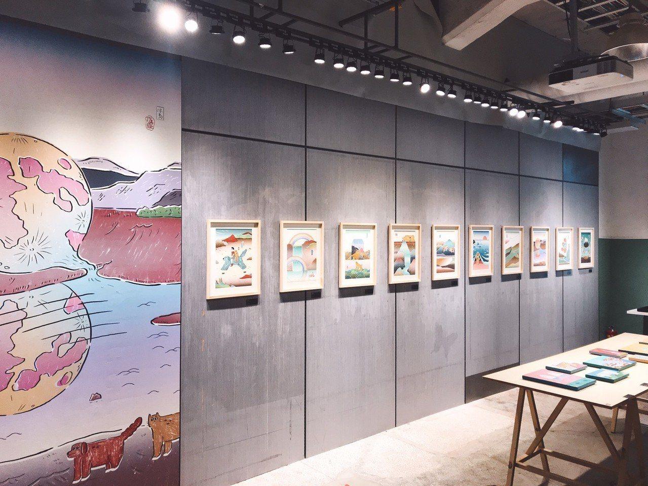 「我的秘密在浪漫的時候公開」倪嘉隆創作個展,圖/聯合數位文創提供