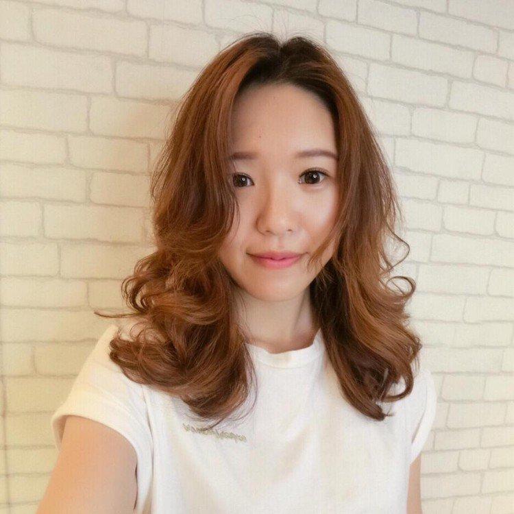髮型創作/上越國際髮型新埔店 / Mifi 米菲。圖/StyleMap美配提供