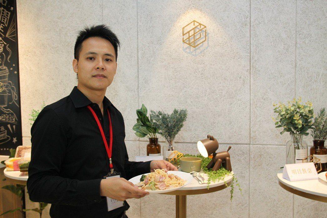 台中市星客匯公司看好大樓的商務需求,在42層的超高大樓裡設立共享空間,也導入許多...