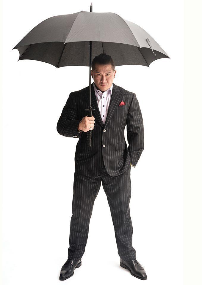 館長陳之漢當眾宣布事業首次倒退14%。取自臉書