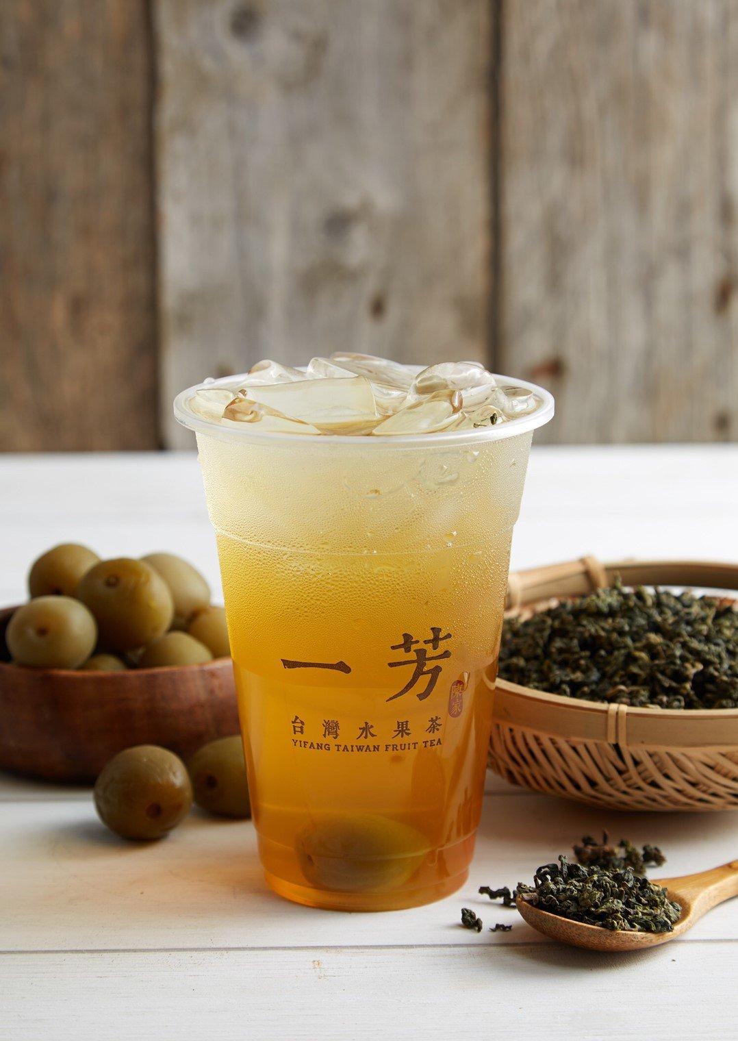 信義脆梅綠限時優惠39元。圖/一芳水果茶提供