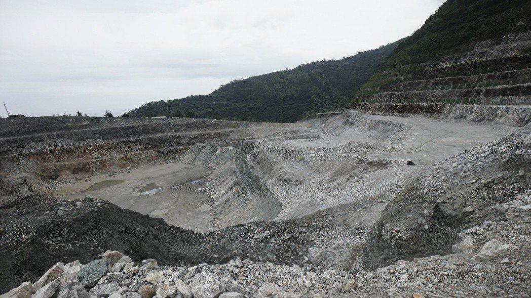 亞泥位於花蓮的新城山礦場展限案遭撤銷。圖/報系資料照片