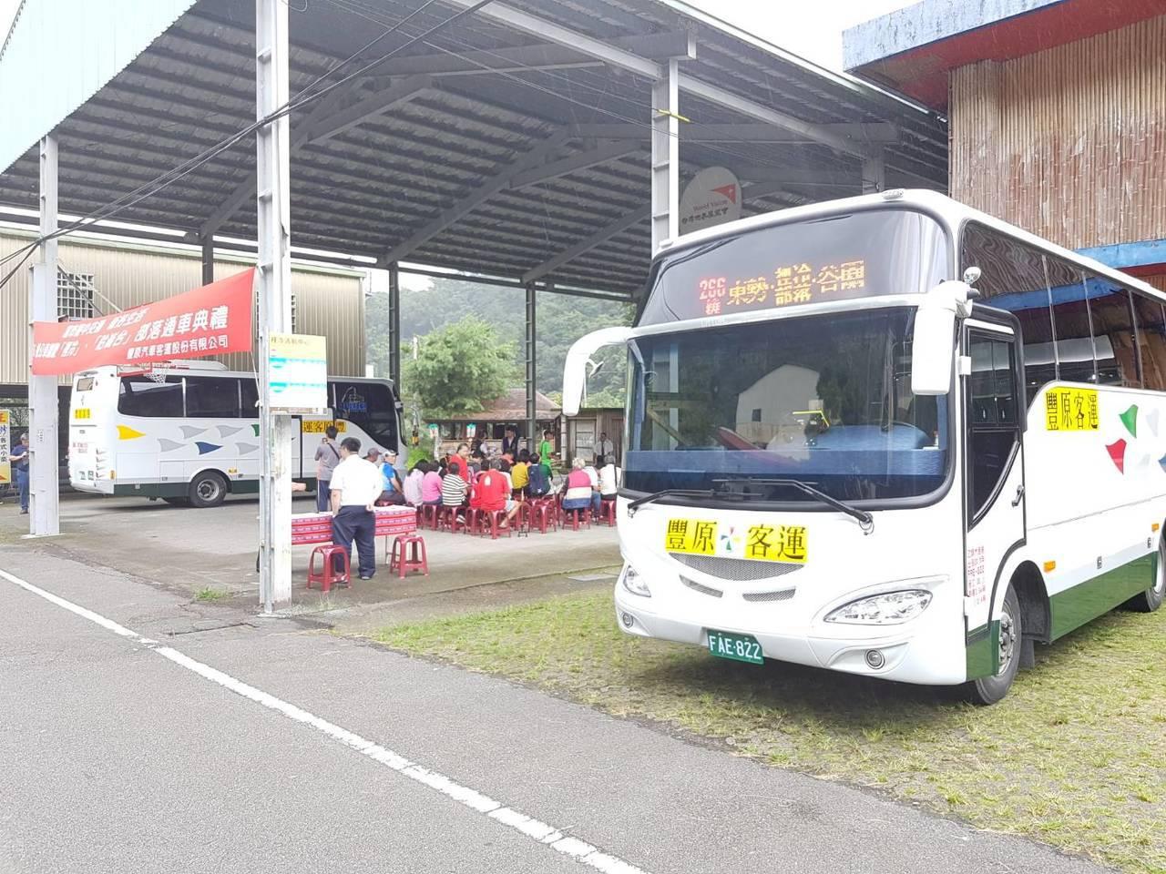台中公車「266繞」調整路線,今起新增3站,駛入和平區裡冷、哈崙台部落,居民不必...