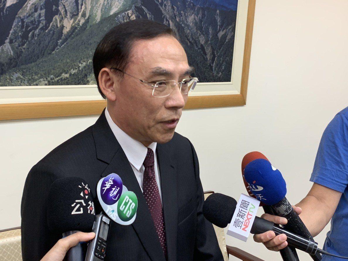 法務部長蔡清祥。記者王聖藜/攝影
