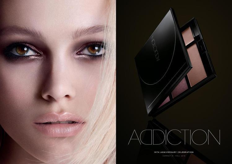 ADDICTION推出10周年限定彩盤。圖/ADDICTION提供