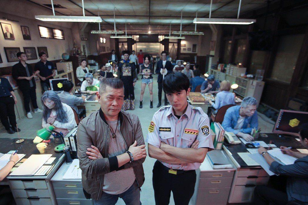 「第九分局」8月29日上映。圖/甲上提供
