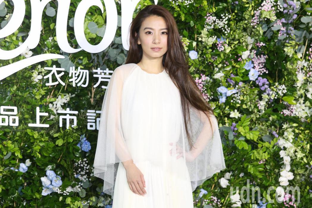 Hebe田馥甄今天出席品牌代言活動。記者徐兆玄/攝影