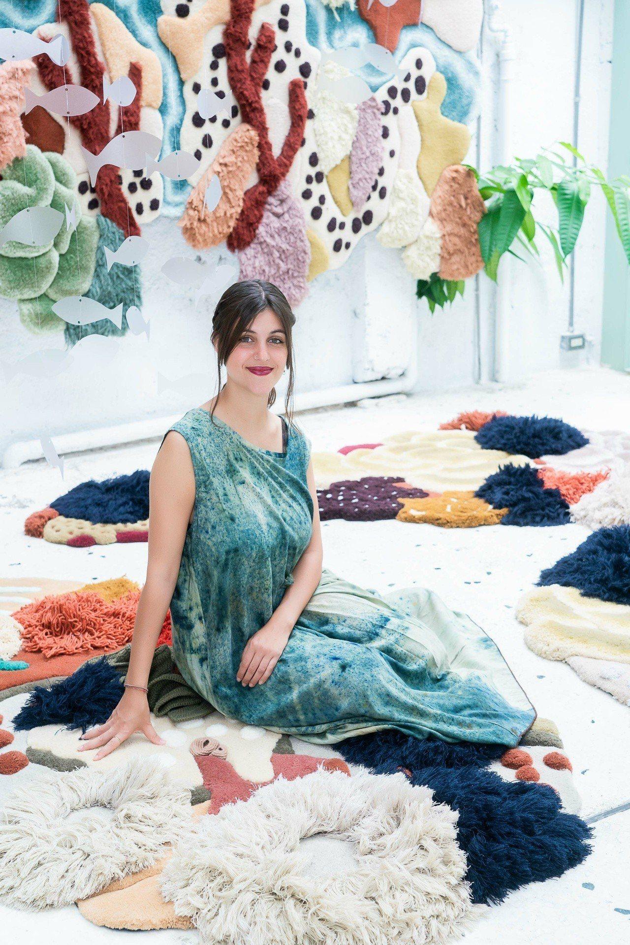 葡萄牙編織藝術家Vanessa Barragão選擇台灣作為亞洲首站展出。圖/o...