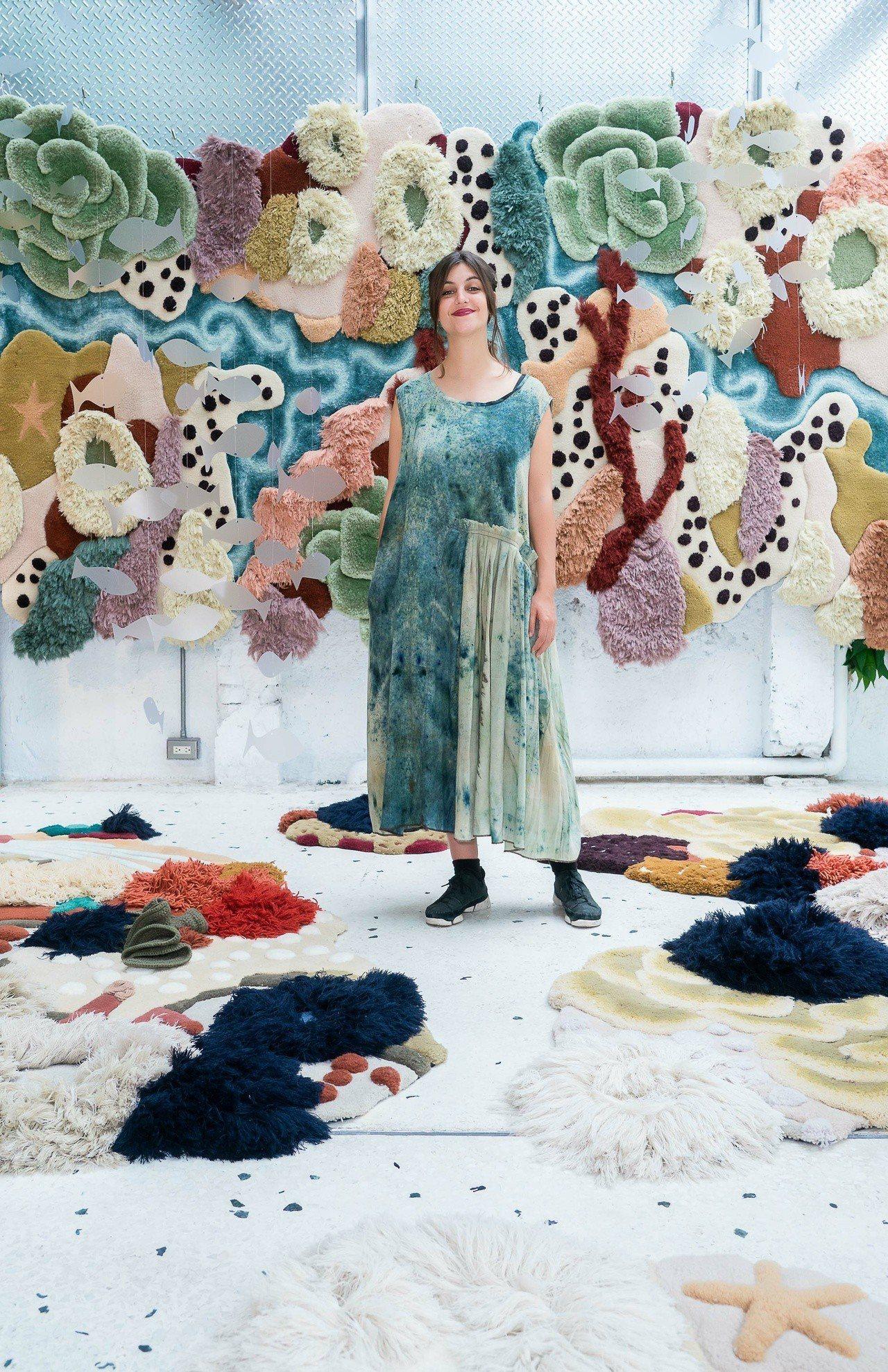 葡萄牙編織藝術家Vanessa Barragão運用再生原料、環保素材製成編織品...