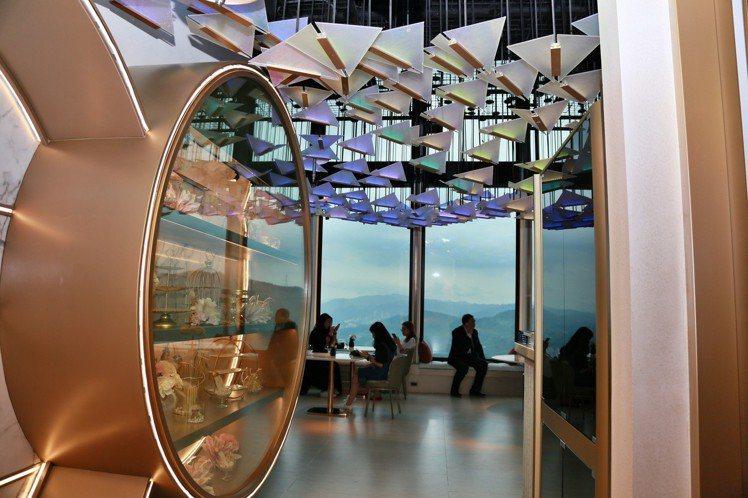 Mirawan是全台首家高空景觀法式餐廳。記者魏妤庭/攝影