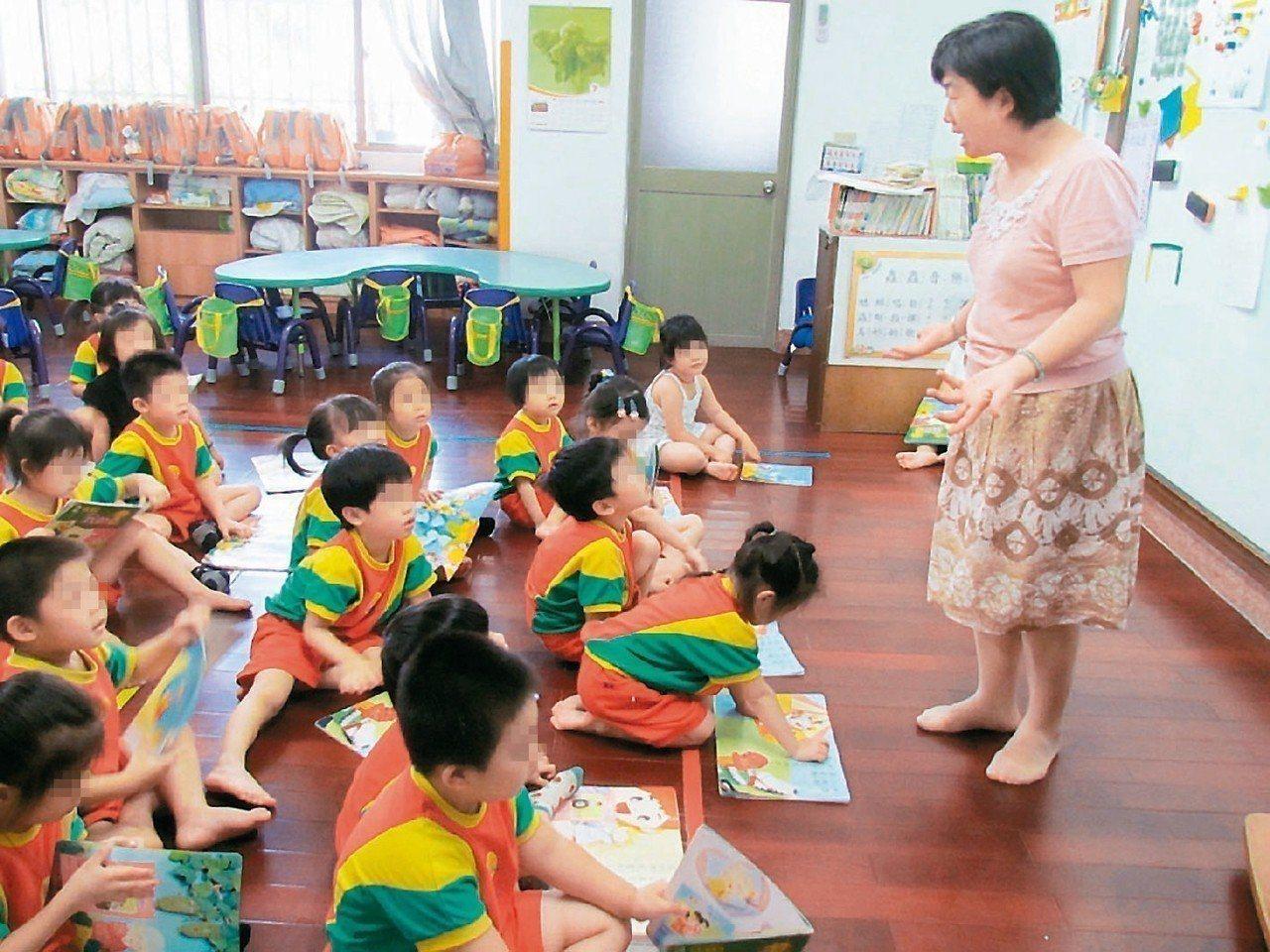 「準公共幼兒園」政策8月1日起全國實施。報系資料照