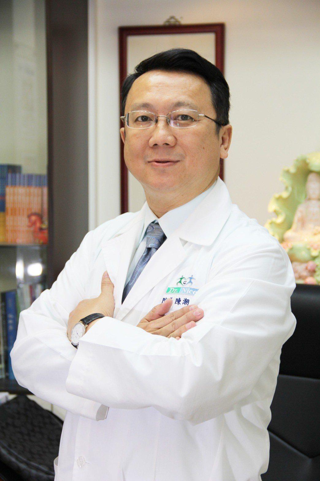 中醫師陳潮宗。 圖/陳潮宗醫師提供