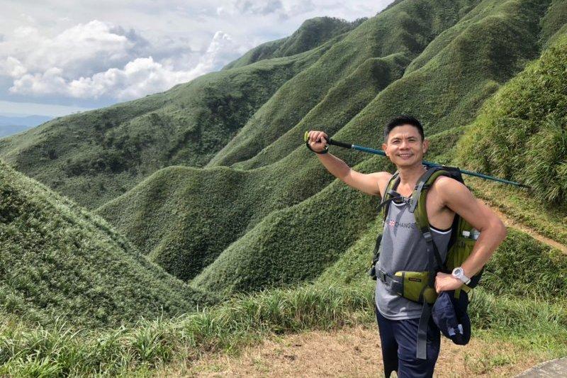 聖母登山步道!三角崙山「抹茶冰淇淋」台灣製造濃郁美景
