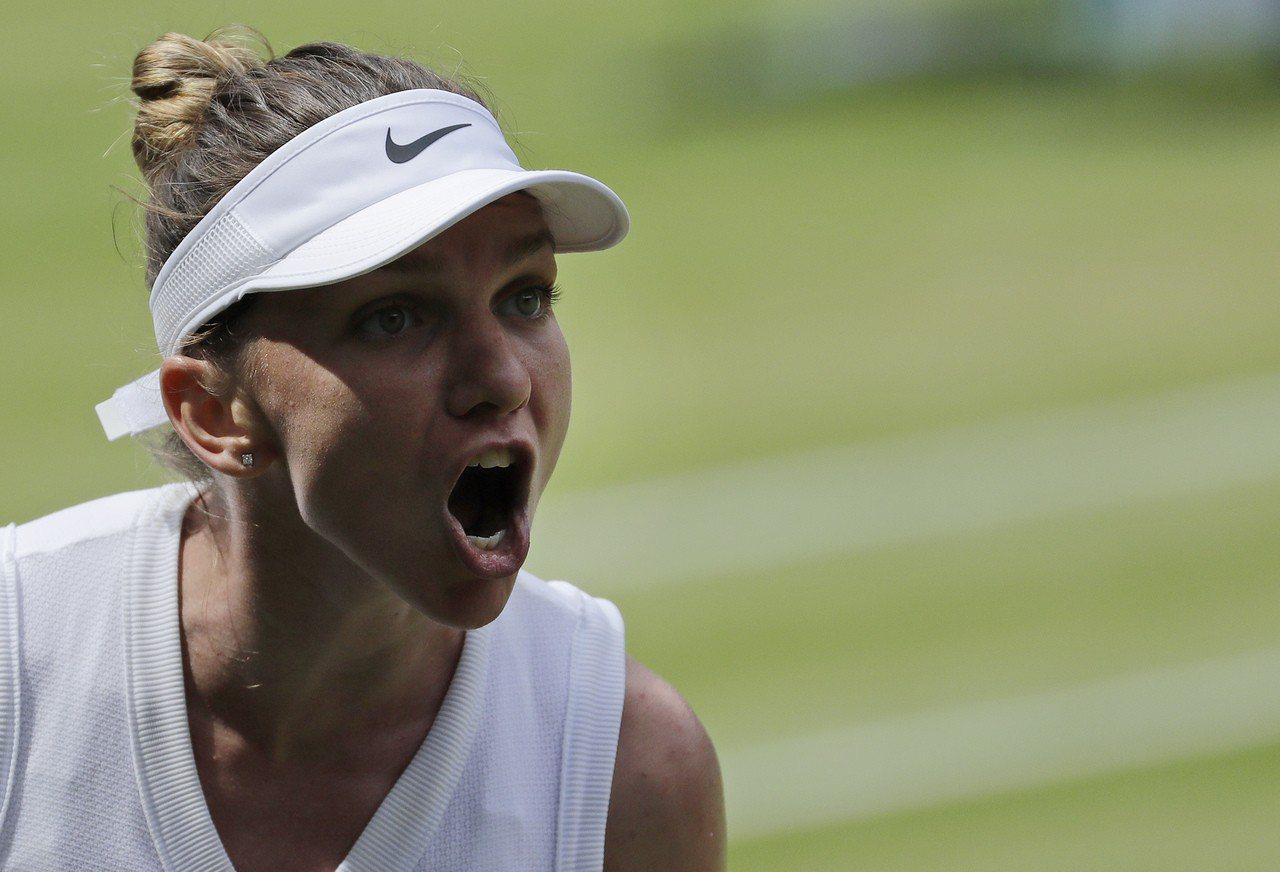 羅馬尼亞前球后哈蕾普打進女單決賽,將與小威爭溫網后冠。 美聯社