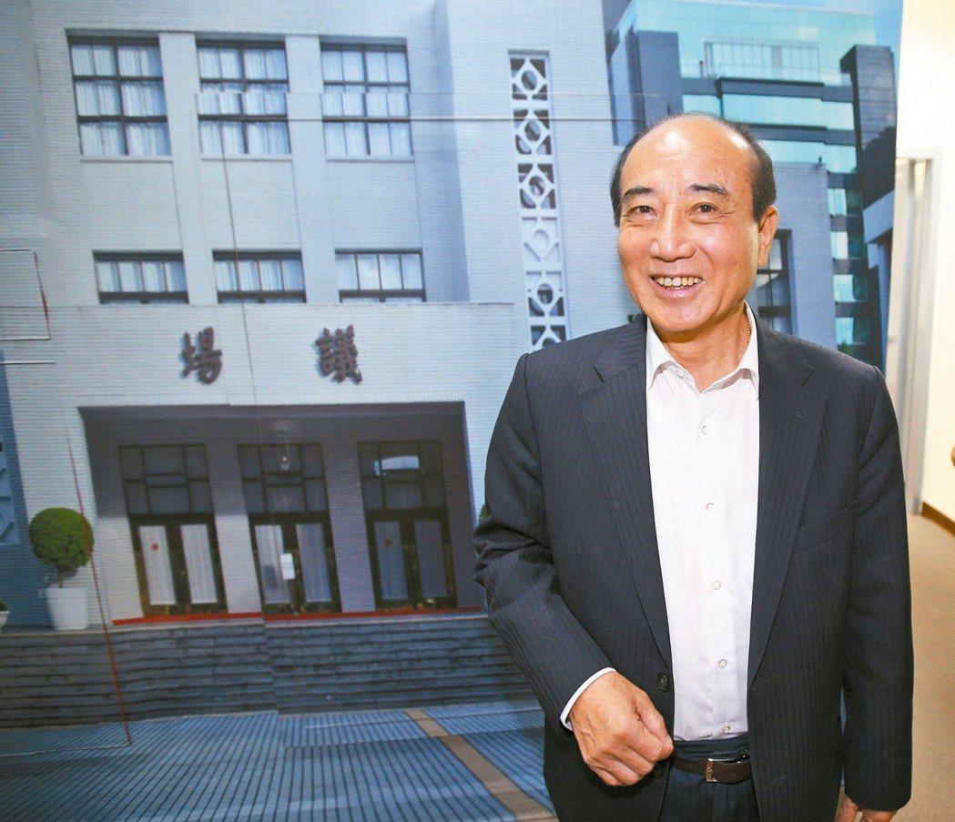 前總統馬英九被控洩密案無罪確定,前立法院長王金平表示尊重司法。 記者蘇健忠/攝影