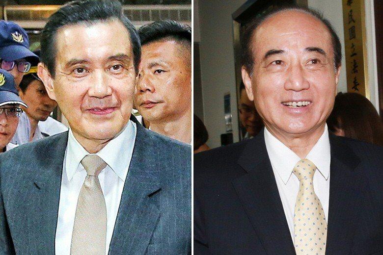 前總統馬英九(左)與立院前院長王金平(右)吵了5年多的「馬王政爭」,暫時畫下句點...