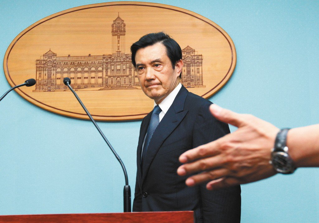 前總統馬英九2013年9月8日舉行記者會,直指王金平涉關說是台灣民主法治發展最恥...