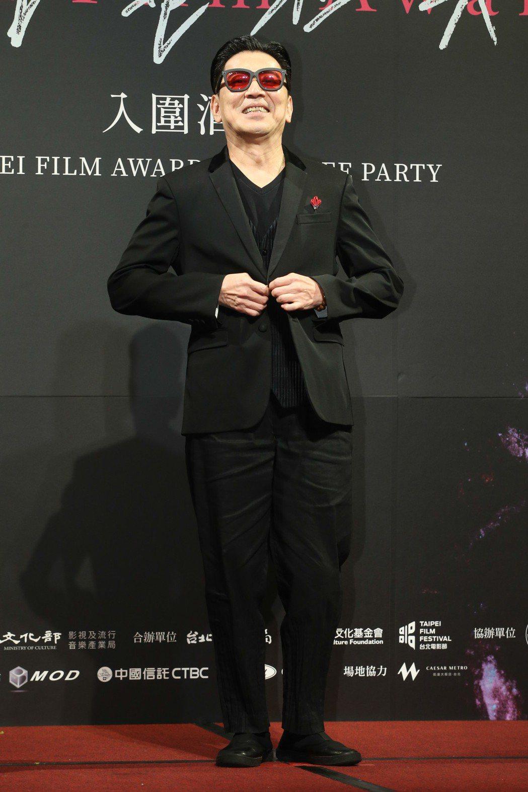 最佳男配角入圍者高捷昨天出席台北電影獎入圍酒會。記者葉信菉/攝影 葉信菉
