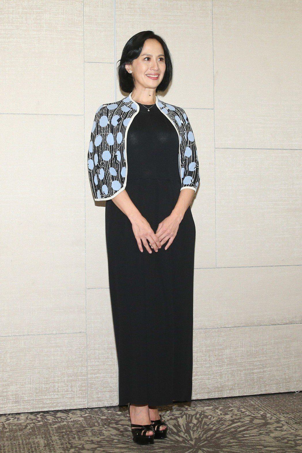 最佳女主角入圍者黃采儀昨天出席台北電影獎入圍酒會。記者葉信菉/攝影 葉信菉
