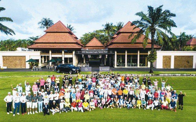 「2019Mercedes-Benz揮桿行善國際高爾夫球賽」再度移師海外的泰國普...