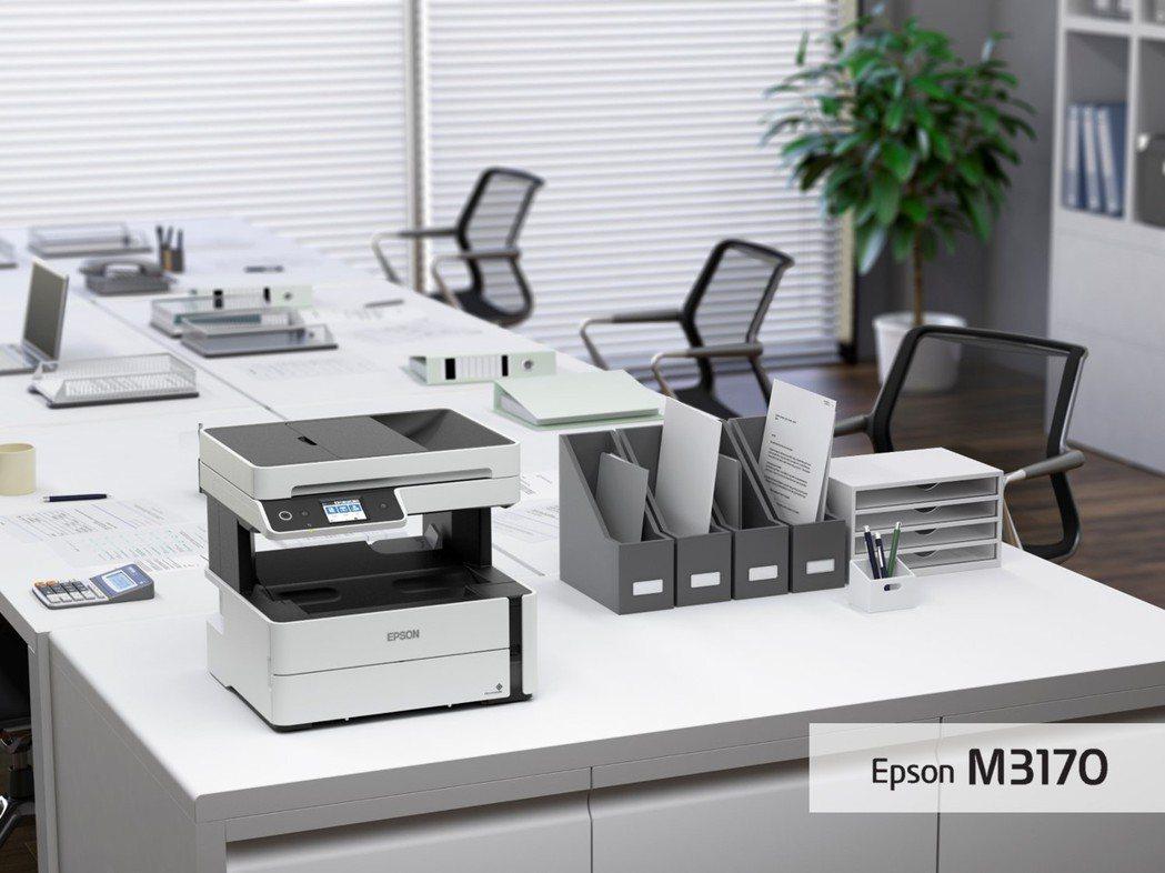黑白高速四合一雙網連續供墨傳真複合機M3170搭載自動進紙器,可輕鬆完成多頁影印...