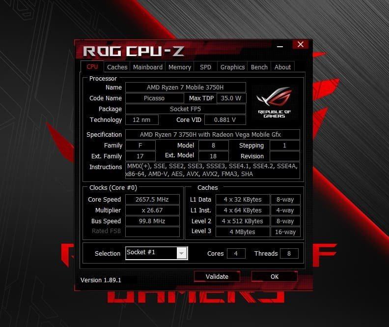 AMD Ryzen 7-3750H在筆電市場擁有C/P王者美譽。 彭子豪/攝影