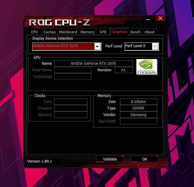 獨立顯卡採高階Nvidia GeForce RTX 2070 8G。 彭子豪/攝...