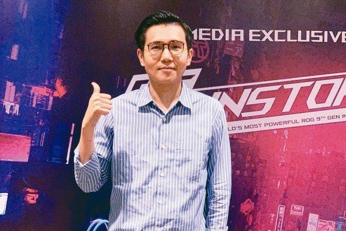 華碩東南亞區域業務總監林韋廷 特派記者馬瑞璿/攝影