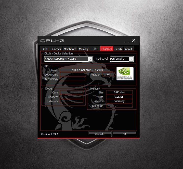 獨立顯卡採用Nvidia GeForce RTX 2080 8G天皇之卡。 彭子...
