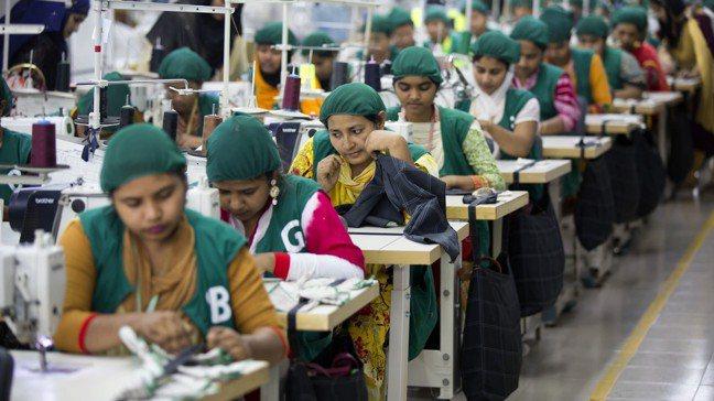 孟加拉成為美中貿易戰的一大贏家。美聯社