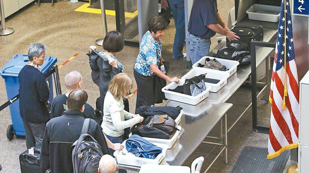 圖為美國西雅圖塔科馬國際機場。 美聯社