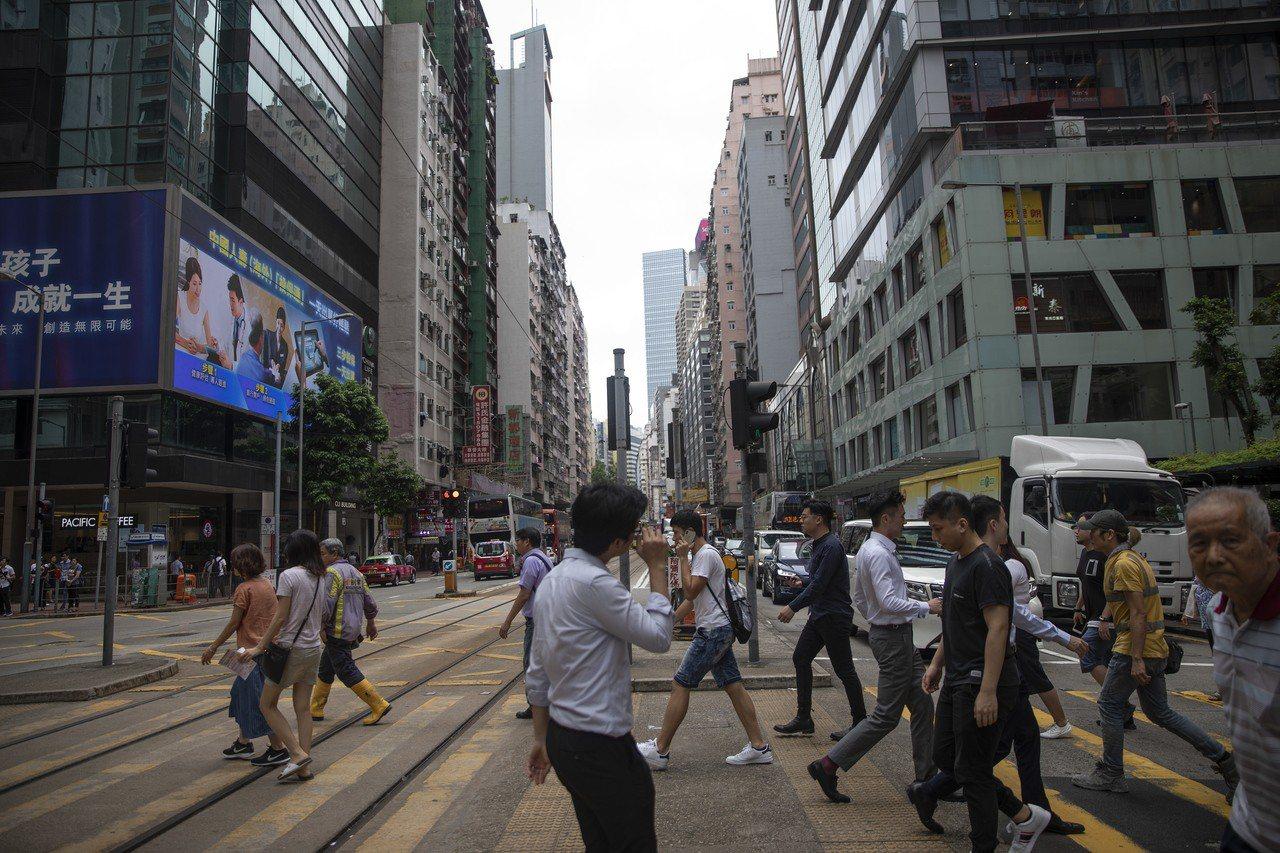 港人因政治改變消費模式 香港商業地位面臨重估 歐新社