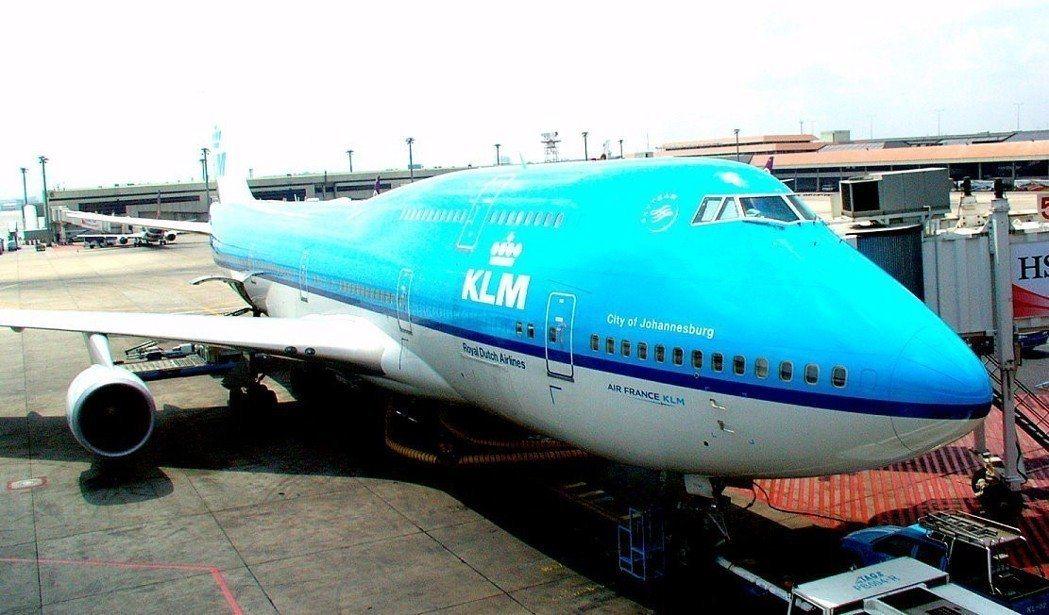 荷蘭皇家航空呼籲乘客、航空業深思飛行帶來的環境衝擊。 圖/聯合報系資料照片