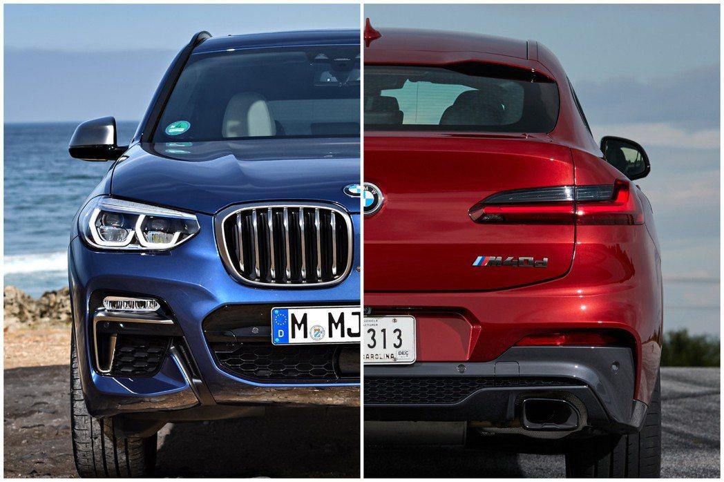 BMW X系列在今年上半年銷售成長了23.1%。 摘自BMW