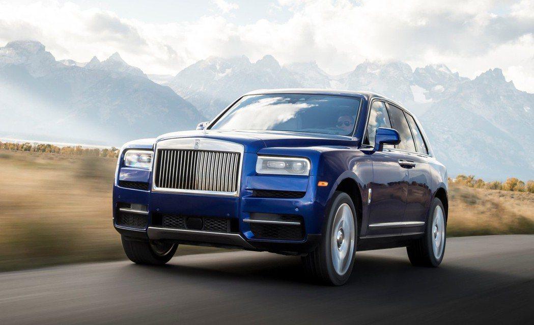 Rolls-Royce Cullinan身受層峰人士的喜愛,讓品牌的銷量也水漲船...