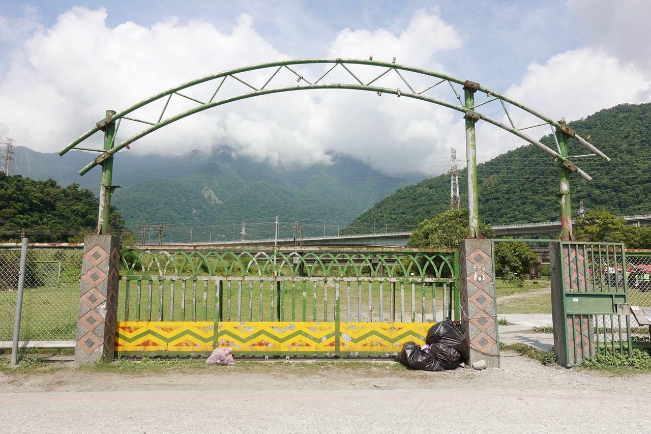 圖/東岳湧泉公園入口處。部落客宜蘭ㄚ欣的美食日誌授權