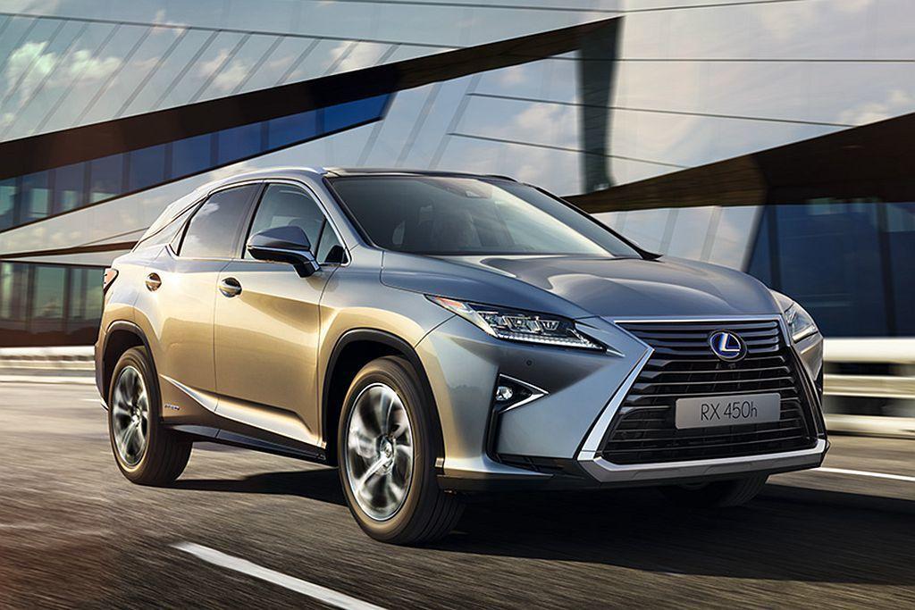 Lexus RX則也有2,204輛的銷售表現(2019上半年)。 圖/提供