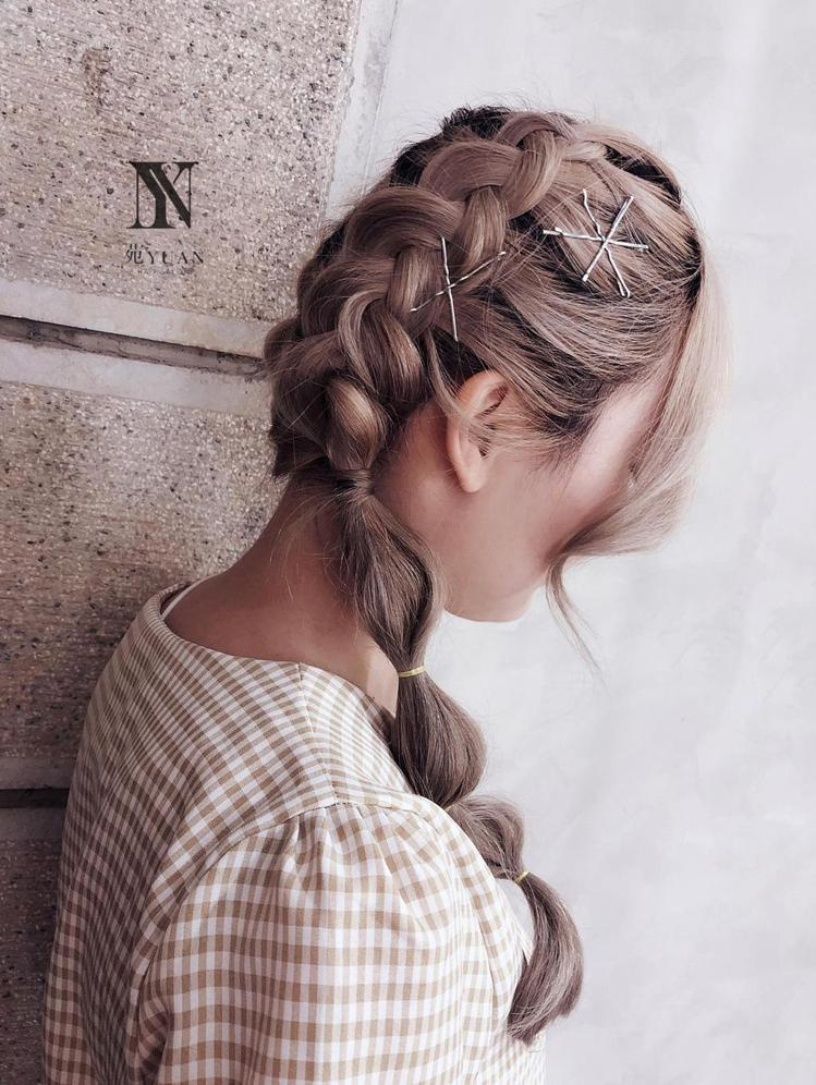 髮型創作/苑 YUAN / Miyasha (饅頭)。圖/StyleMap美配提...