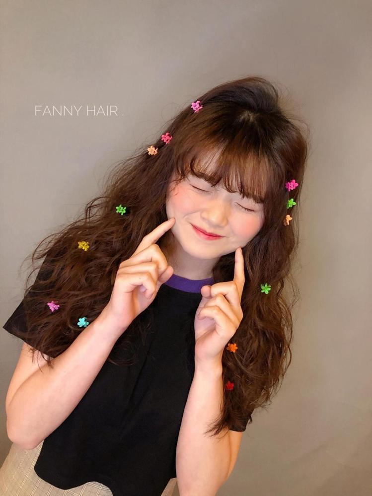 髮型創作/Je上越髮型 府中店 / fanny。圖/StyleMap美配提供