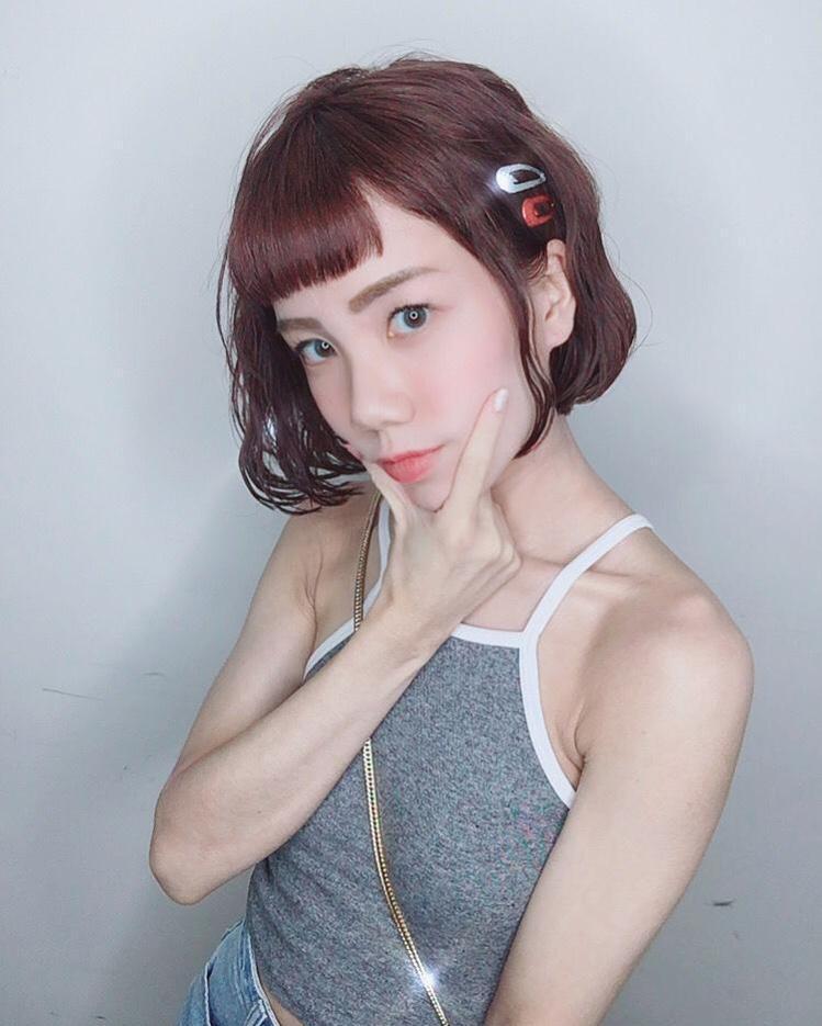 髮型創作/ Top 2 hair design / 米妮。圖/StyleMap美...