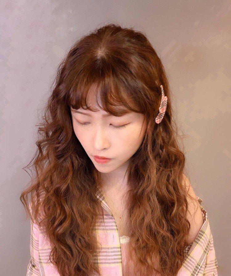 髮型創作/Je上越髮型 府中店 / Nancy 南西。圖/StyleMap美配提...