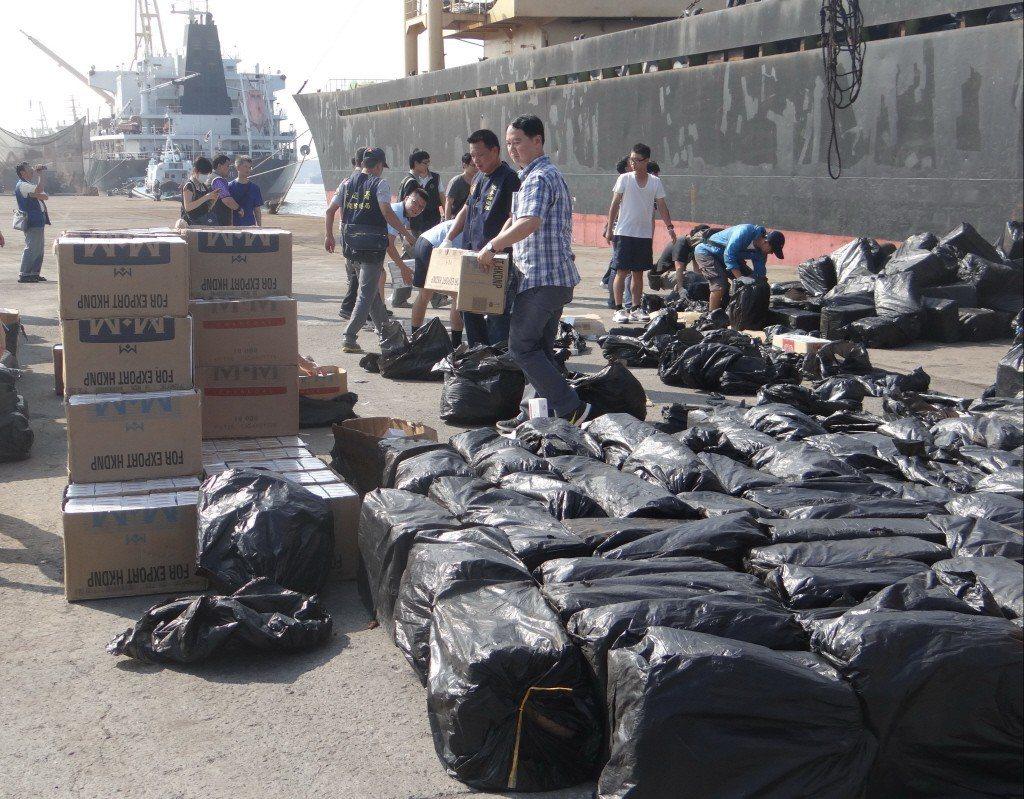 調查局南機站偵破巴拿馬籍貨輪「笙宏號」走私500公斤K毒。圖/資料照片