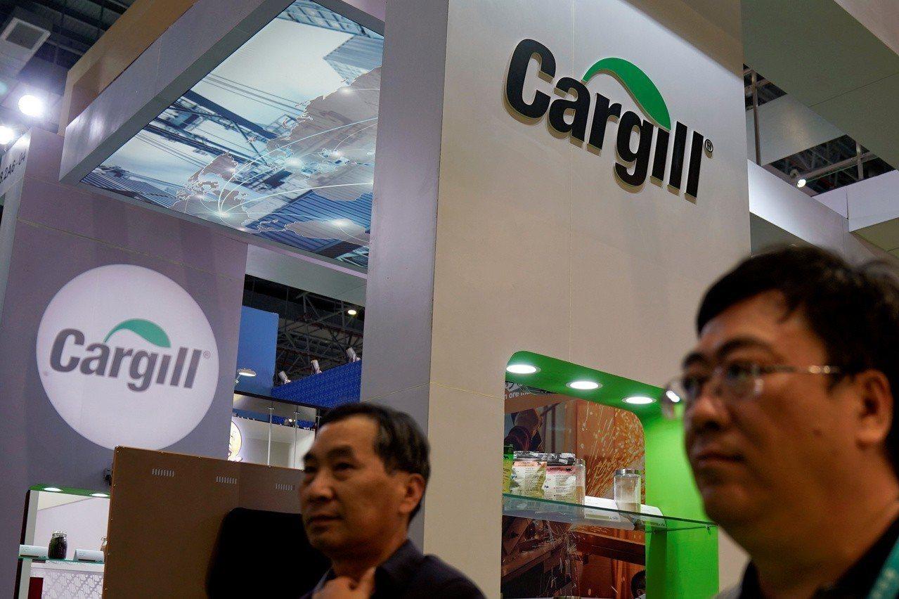 嘉吉(Cargill)去年11月參加上海中國國際進口展。 路透