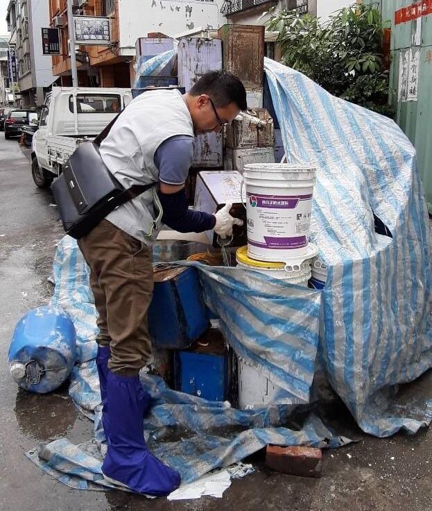 台南市一名家住永康區五王里的男子從越南返台被檢出感染登革熱。圖/南市衛生局提供