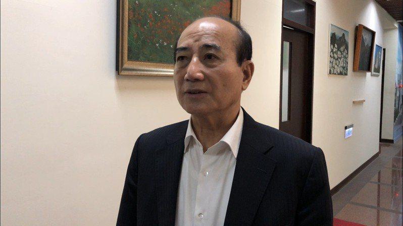 王金平。記者張文馨/攝影