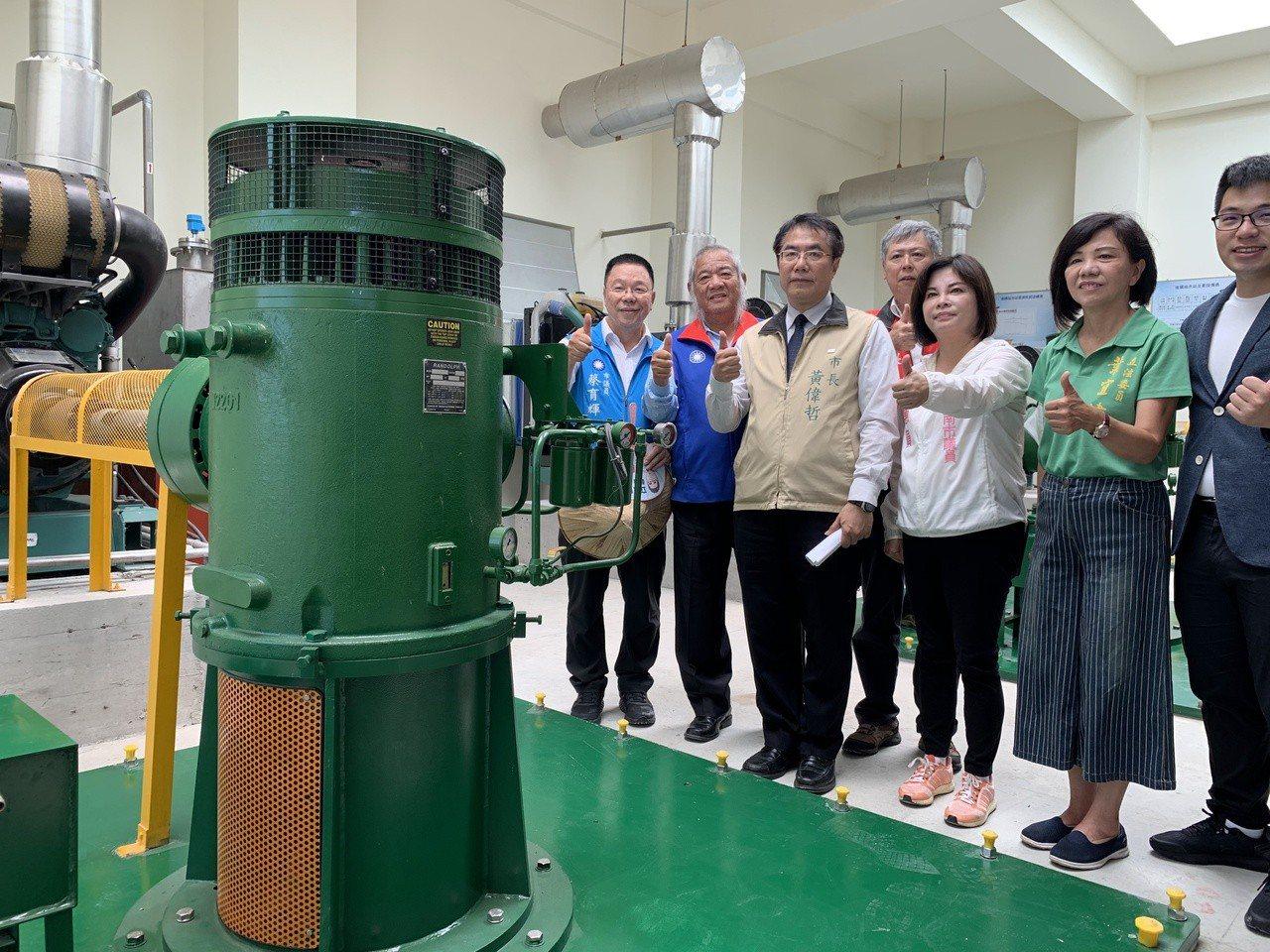 台南市後壁區後鎮排水站今竣工啟用。記者吳淑玲/攝影