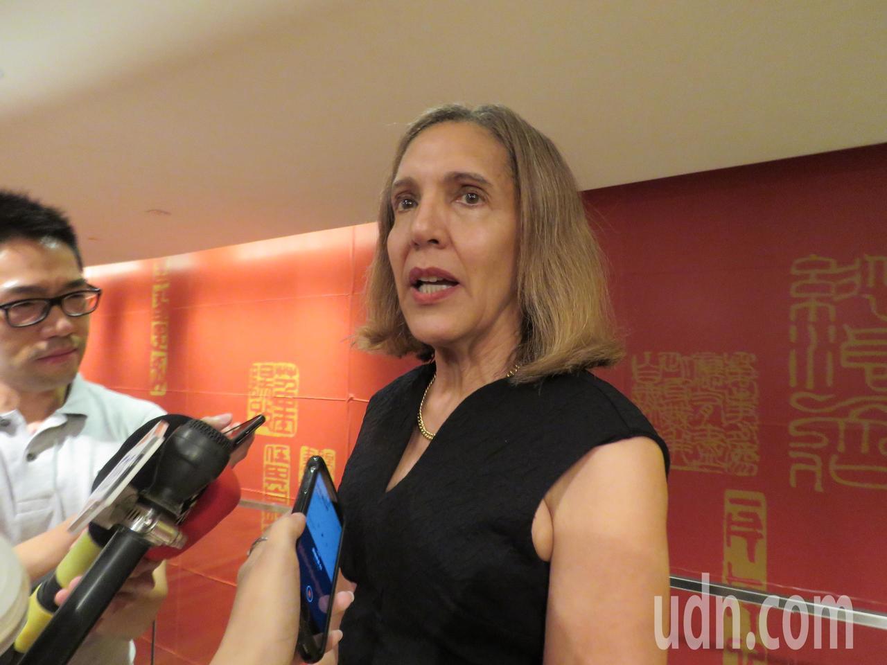 貝里斯駐聯合國常任代表楊恩。記者張加/攝影