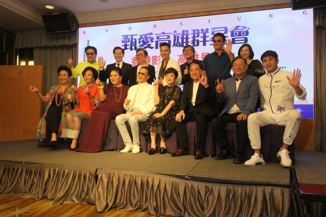 甄珍與眾家影壇老友歡聚,大家都來為她助陣。記者蘇詠智/攝影