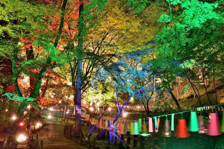 京都府「京之七夕」每年都會迎來全日本各地的戀人們。圖/樂天旅遊提供