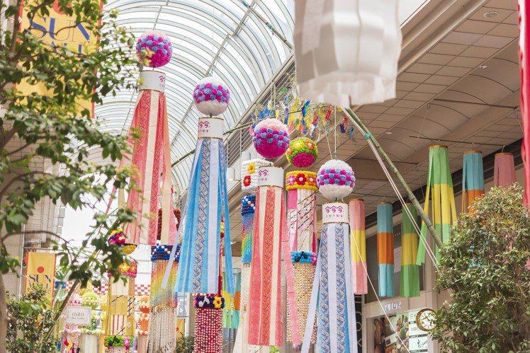 宮城縣的「仙台七夕祭」,名列日本3大七夕祭之一。圖/樂天旅遊提供